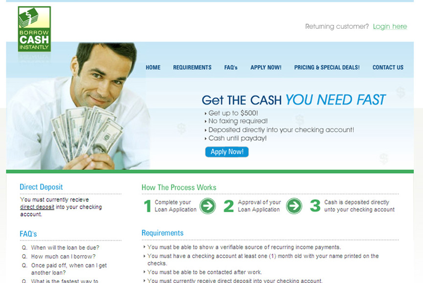 Borrow-Cash-Instantly