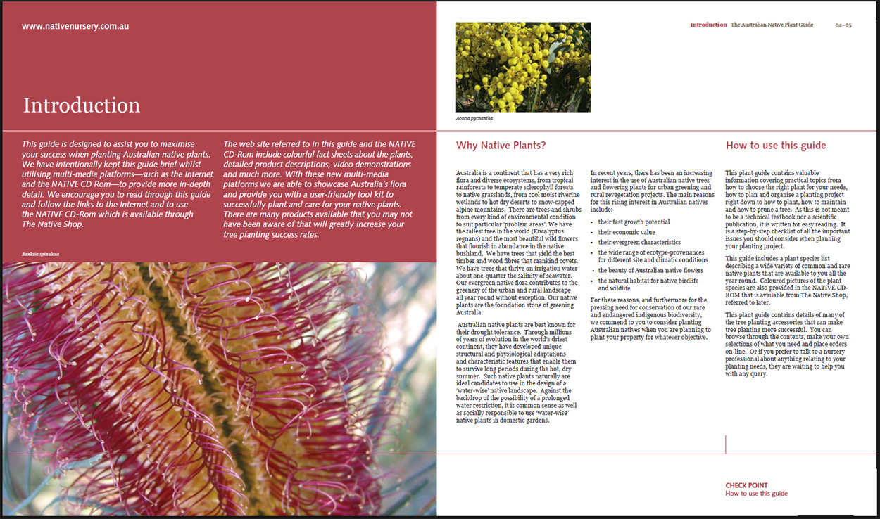 Native Growth Holdings Native Plant Guide