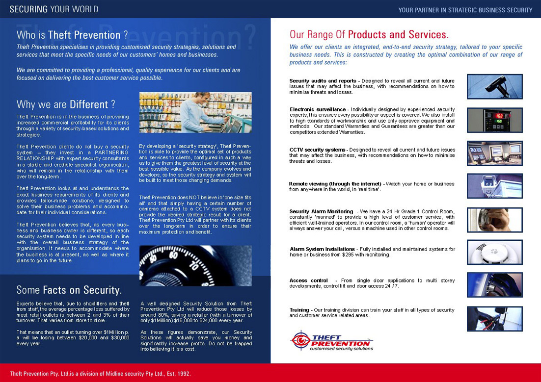 the prevention of theft and security maintenance in society Tips for preventing theft of laptops and how do theft prevention two-way wireless security alarms for laptops consist of an alarm installed on.
